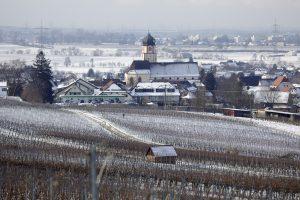 冬のフライブルグ